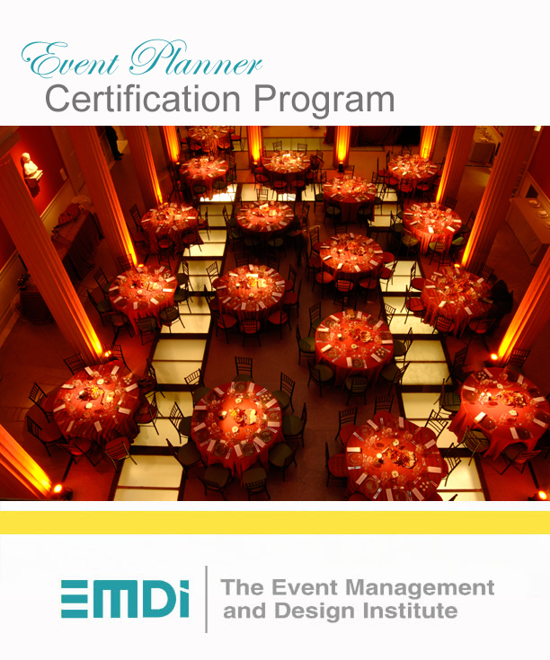 Event Planner Certification Program - The Event Management and ...